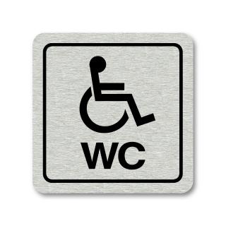 "Piktogram ""WC invalidé"""